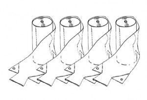 Large bags, 4-Pack of rolls